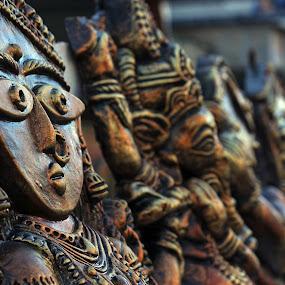 Terracota by Udaybhanu Sarkar - Artistic Objects Still Life ( face, terracota, clay made, still life, artistic )