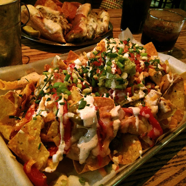 Nachos appetizer, was my whole meal plus take home!
