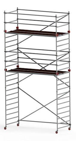 Rullställning Jumbo 250 x 135 x 750cm