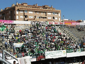 Photo: 17/10/09 v Real Betis Balompie (SegDiv) 1-0 - contributed by Leon Gladwell