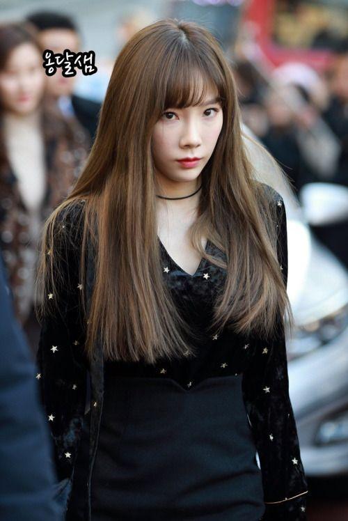 taeyeon bangs 1