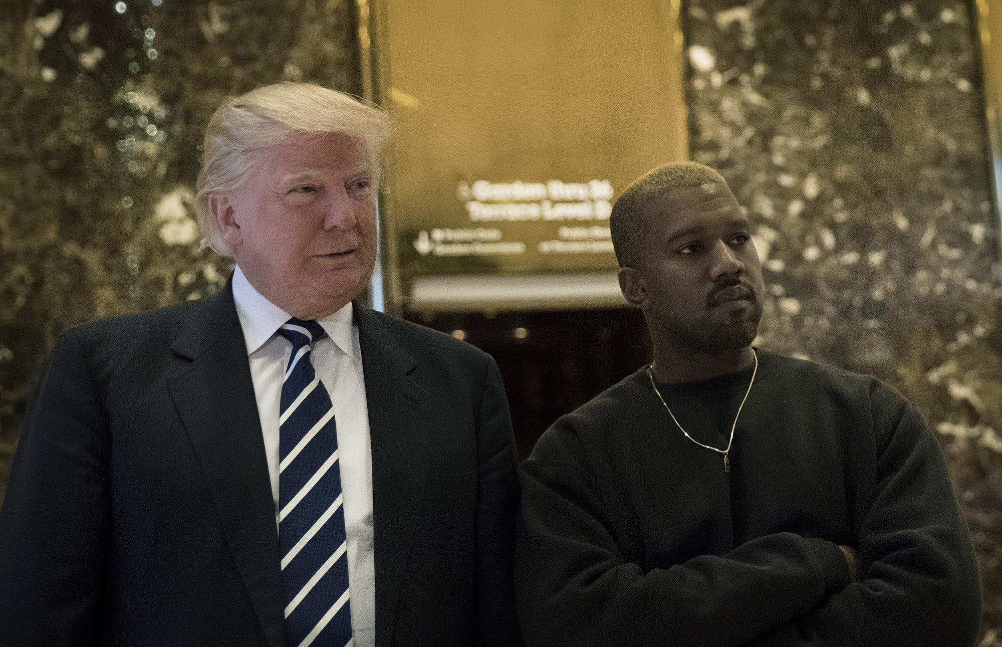 Trump thanks rapper Kanye West for his support