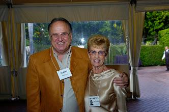 Photo: Jerry Mayo, '55, and Sherrill Williams Mayo