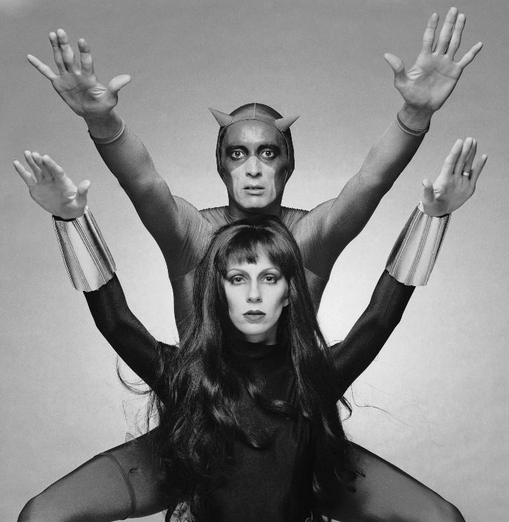 Angie Bowie and Ben Carruthers as Black Widow and Daredevil. (1975) :  OldSchoolCool