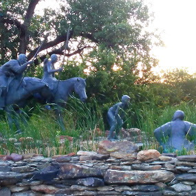 Wee chi tah by Sherry Dennis - City,  Street & Park  Historic Districts