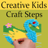DIY Creative Kids Craft Steps