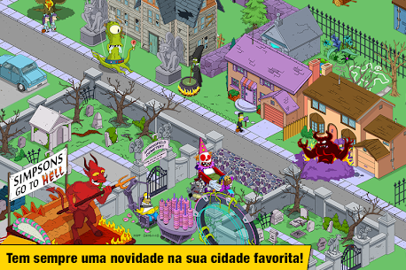 The Simpsons Tapped Out Apk Mod Compras Grátis 9