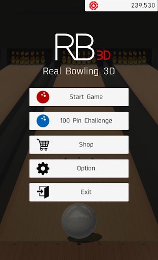 Real Bowling 3D -Physics Engine Bowling Game- screenshots 1