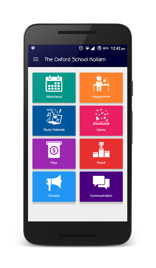 The Oxford School Kollam- screenshot