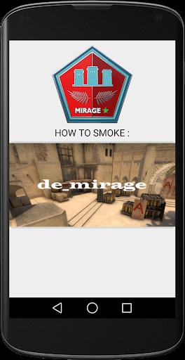 CSGO SMOKES MIRAGE de_mirage