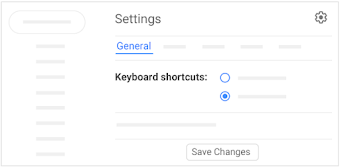 Save keyboard shortcuts