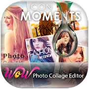 WoW Photo Collage Editor and Best Photo Effects