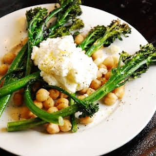 Roasted Broccolini and Ricotta.