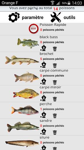 Pêche Poisson Compteur