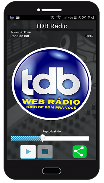 TDB Rádio- screenshot