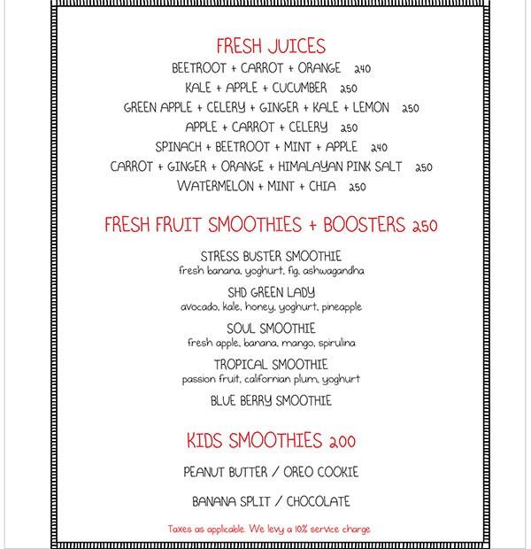 Smoke House Deli menu 17