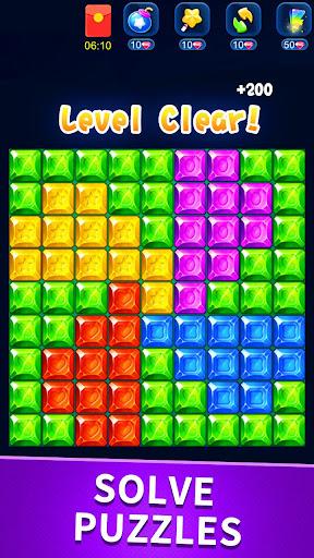 Télécharger Gratuit Star pop blast—Magic Gems Match Puzzle APK MOD (Astuce) screenshots 1