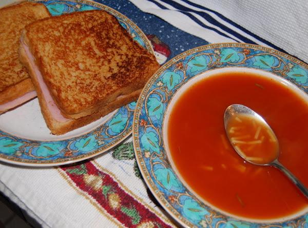 Tomato Chicken Lemon Rosemary Soup Recipe