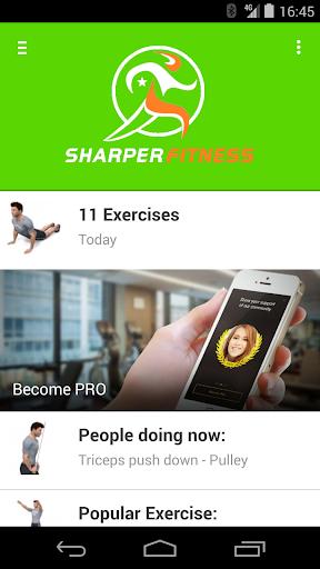 Sharper Fitness