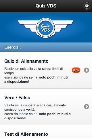 android Quiz VDS Screenshot 0