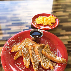 French toast & scrambled eggs