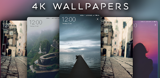 4K Wallpapers - Auto Wallpaper Changer APK