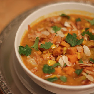 Sweet Potato, Apple and Corn Coconut-Curry Chowder Recipe