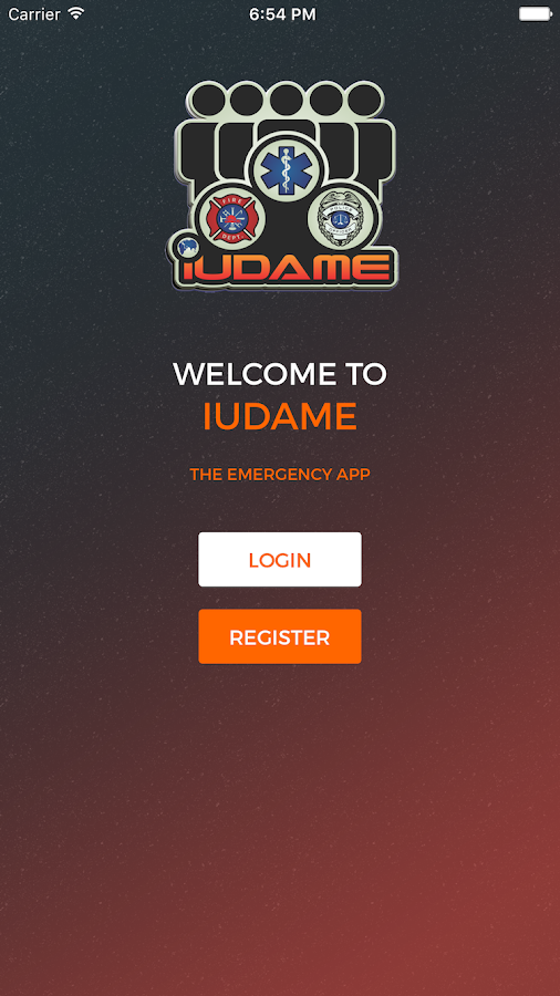 iUDAME- Emergency- screenshot