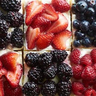 Berry Patchwork Tart.