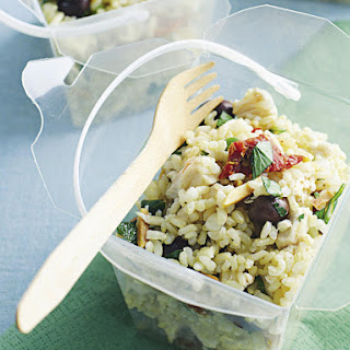 Italian Brown Rice Salad.