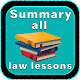 Summary all law lessons Download for PC Windows 10/8/7