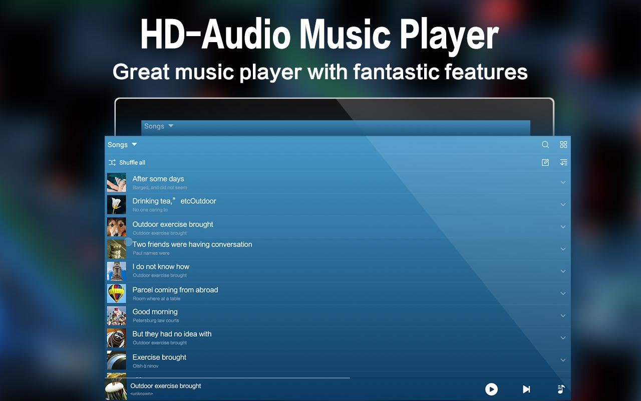 Music - Mp3 Player- screenshot