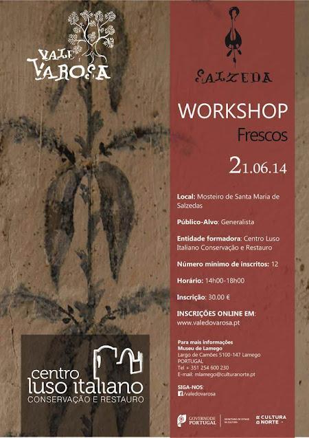 Workshop de pintura a fresco no Museu de Lamego| Inscrições abertas