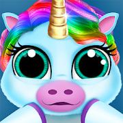 Baby Unicorn Pet Nursery - Care and Dress up