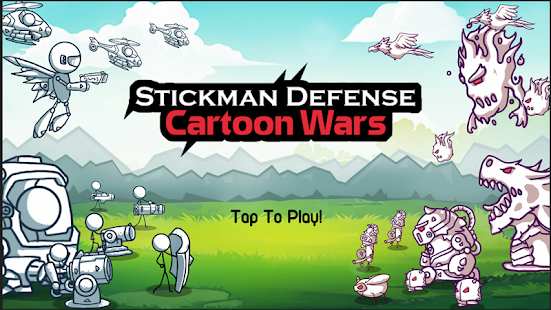 Stickman Defense: Cartoon Wars Screenshot