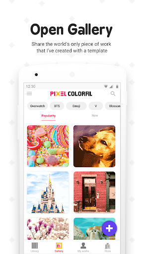 Pixel ColorFil: Color by Number screenshots 7