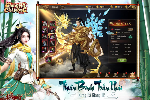 Giang Hu1ed3 Chi Mu1ed9ng - Tuyet The Vo Lam apkpoly screenshots 5