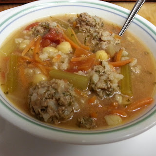 Mom's Albondigas Soup