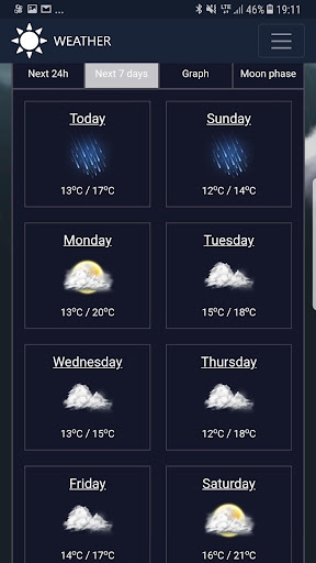 Weather network 1.3 screenshots 5