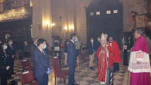 La Catedral acoge la celebración del Patrón de la Diócesis, San Indalecio, marcada por la Covid-19