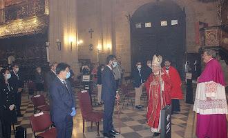 En imágenes: Fiesta del Patrón de la Diócesis marcada por la Covid-19