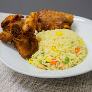 Fried Rice & Grilled Turkey