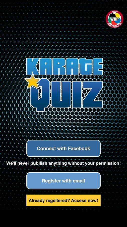 Karate Quiz- screenshot