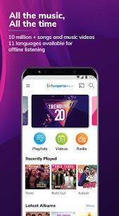 Hungama Music – Stream & Download MP3 Songs v5.1.9 [Mod] APK 1