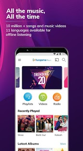 Hungama Music - Stream & Download MP3 Songs Screenshot