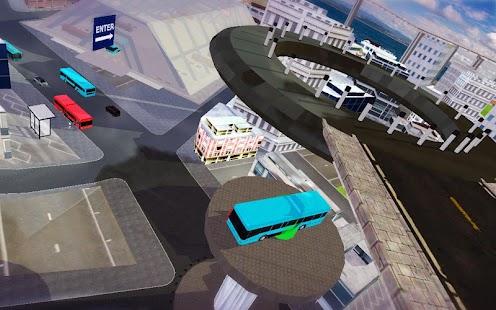 unikátní město autobus sim - náhled
