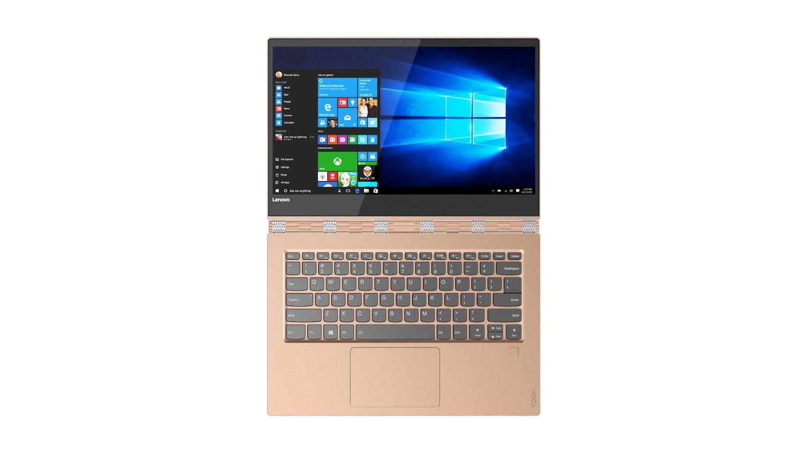 Фото 4 - Ультрабук Lenovo YOGA 920 Copper (80Y700A8RA)