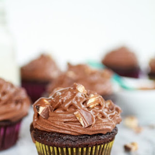 Death By Chocolate Cupcakes.
