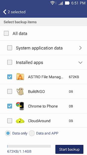 ASUS Backup screenshot 1