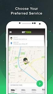 MyTeksi: Book a ride- screenshot thumbnail